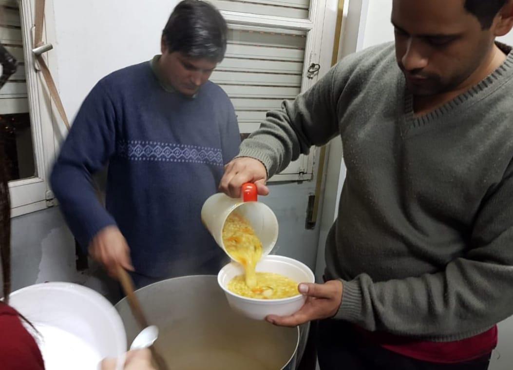 Posadas: el Municipio asistió esta semana a más de 200 personas en situación de calle por las bajas temperaturas