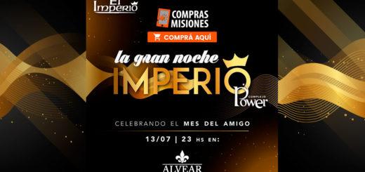 Llegó el día: la pista Imperio del Complejo Power hoy en Salones Alvear…Ingresá y adquirí las entradas por Internet