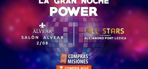 Alejandro Pont Lezica mezclará la mejor música en la Gran Noche Power All Stars de Salones Alvear...Comprá aquí las entradas
