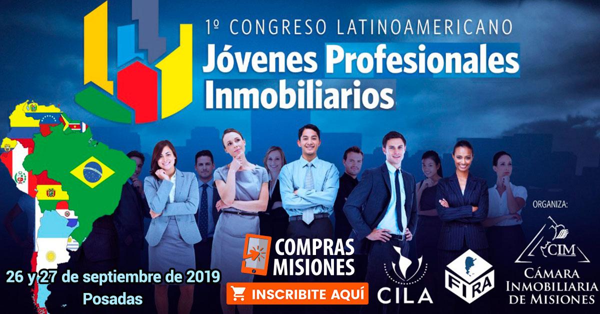 Profesionales de varias actividades participarán del I Congreso Latinoamericano de Jóvenes Inmobiliarios…Inscribite aquí por Internet
