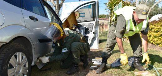Salió de Garupá y lo atraparon en Ituzaingó con 49 kilos de marihuana en su vehículo