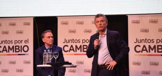 """Macri y Pichetto, en el lanzamiento de campaña: """"Es Juntos por el Cambio o volver 25 años para atrás"""""""