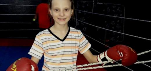 Una niña de 10 años es la primera instructora de kick boxing en Misiones