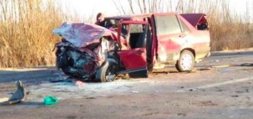 Choque fatal en Mendoza: murieron los dos conductores y hay cinco heridos