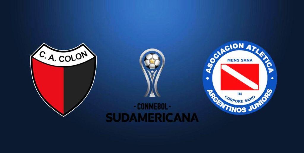 Copa Sudamericana: Colón recibirá a Argentinos Juniors en el partido de ida de los octavos de final