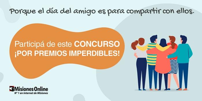 Se acerca el Día del Amigo y Misiones Online te invita a participar de un concurso por premios imperdibles