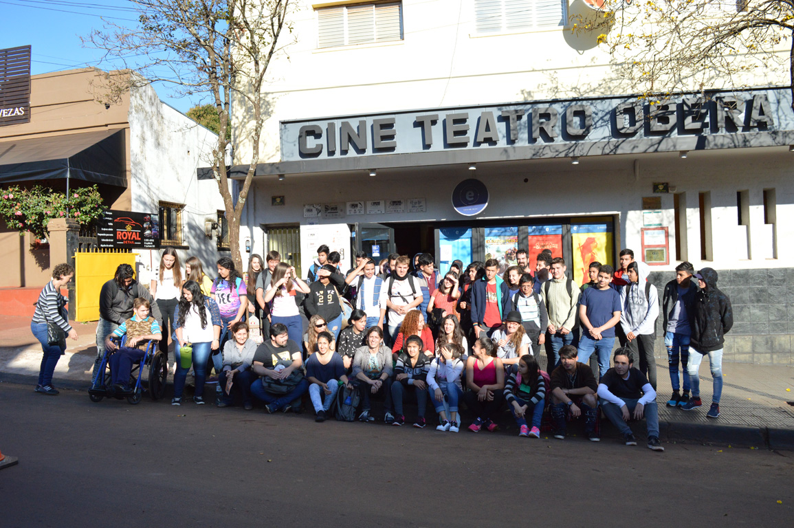 Oberá en Cortos: se realizan actividades con jóvenes estudiantes de diferentes escuelas de la provincia