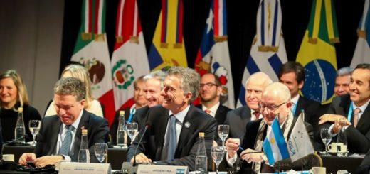 """Macri destacó en la 54° Cumbre del Mercosur el acuerdo con la Unión Europea: """"Es fruto de ese trabajo colectivo"""""""