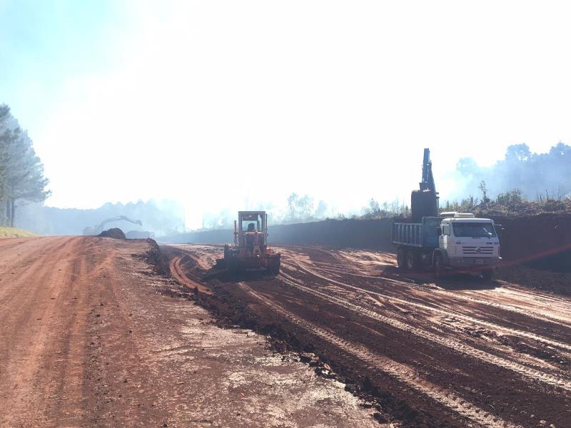 Conectividad vial: avanzan las obras del acceso a Colonia Guaraypo