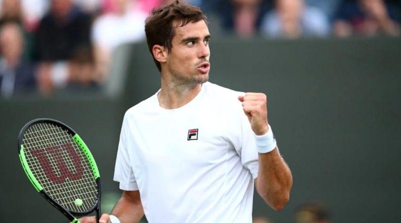Guido Pella intentará hacer historia en los cuartos de final de Wimbledon