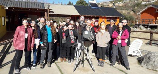 Turismo Misiones vive a pleno la expedición para observar el eclipse de sol en San Juan