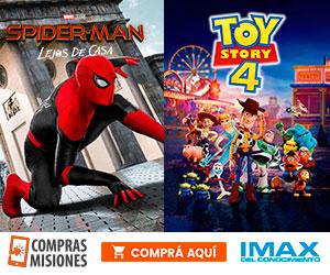 En 3D: Toy Story y Spider-Man están de vacaciones en el IMAX del Conocimiento…Ingresá aquí y comprá las entradas por Internet