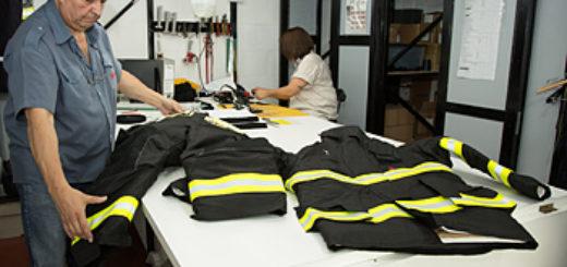 Expertos textiles del INTI trabajaron en ensayos para que una Pyme certifique trajes de bomberos