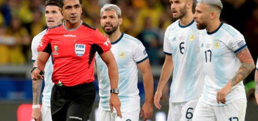 Conmebol le respondió a la AFA por las quejas del arbitraje de Argentina-Brasil