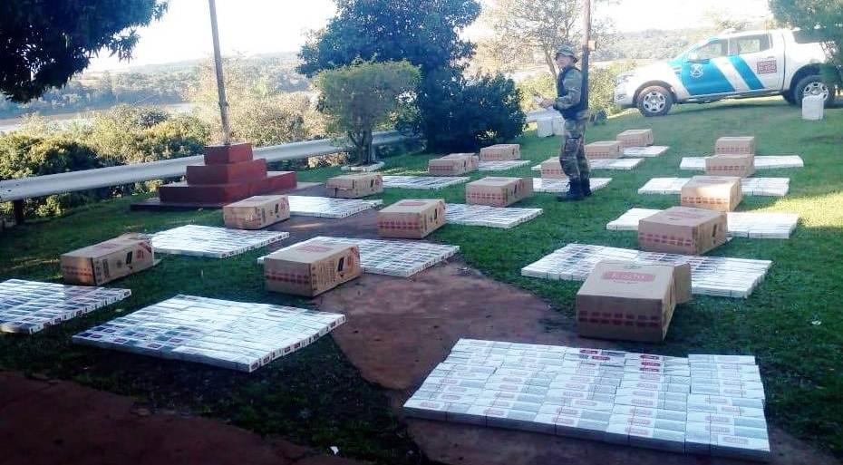 Secuestraron cigarrillos de contrabando por más de 750.000 pesos en Corpus