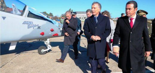 La Argentina le vendió a Guatemala dos aviones Pampa