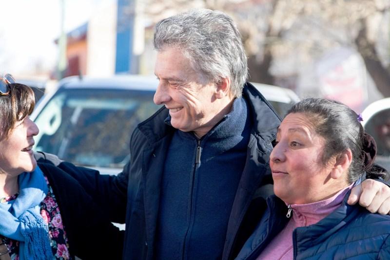 Macri encabezó el acto de la inauguración de un tramo de la Ruta Nacional 40, en Mendoza
