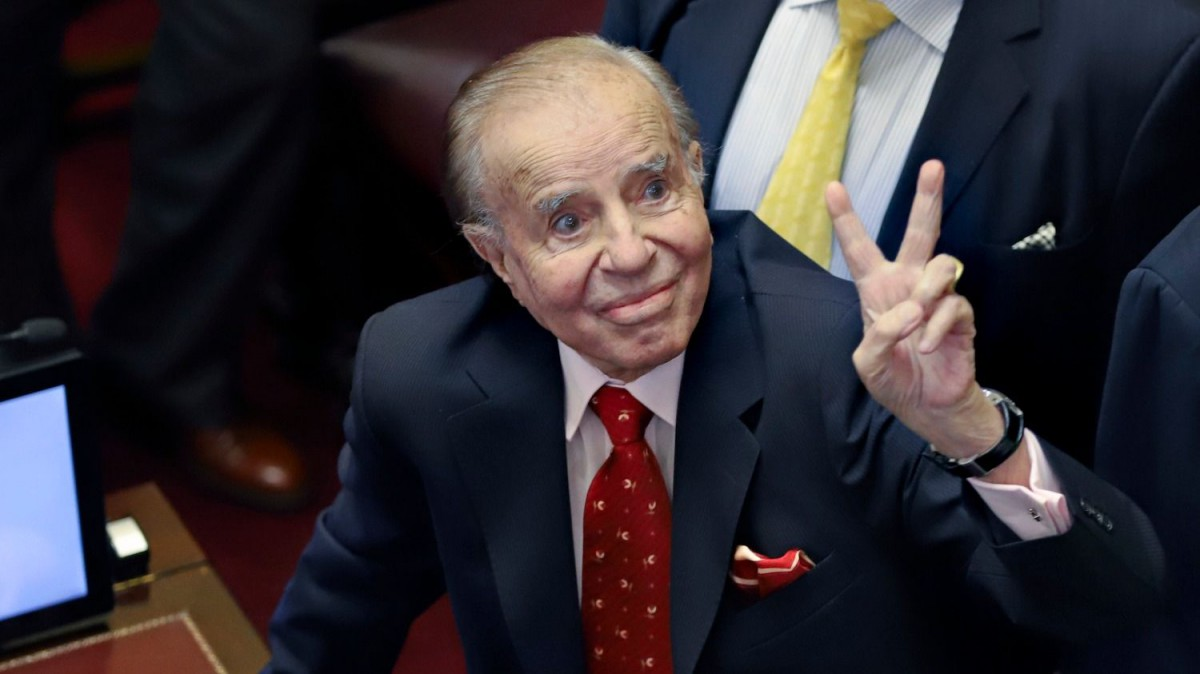 Carlos Menem cumple 89 años
