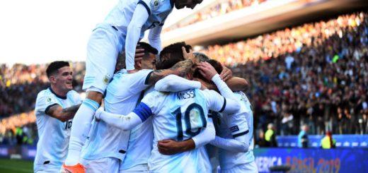Argentina ganó por 2- 1 a Chile en San Pablo y se quedó con el tercer lugar de la Copa América