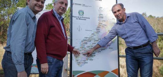 """""""Armonía y sencillez como servidores públicos"""", remarcó Passalacqua al inaugurar obras en Cerro Azul"""