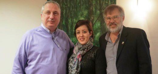 Passalacqua entregó un subsidio a la Federación de Colectividades de la Fiesta del Inmigrante