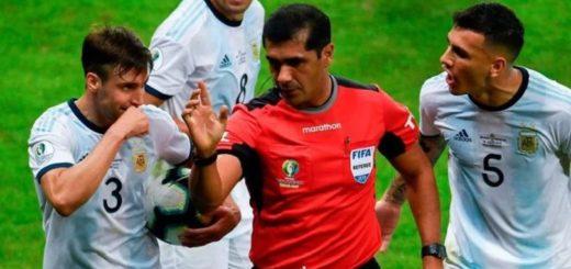 El VAR, protagonista de la eliminación Argentina