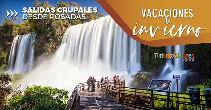 En estas vacaciones de invierno Turismo Misiones te lleva a recorrer los destinos más destacados de la provincia