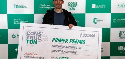 """#OrgulloMisionero: empresa de Montecarlo recibió un premio de $300.000 al ser el ganador del concurso """"Constructón"""""""