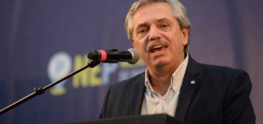 """Alberto Fernández: """"No hago un ocultamiento de Cristina, estoy orgulloso de que sea mi vicepresidenta"""""""