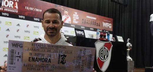 Rodrigo Mora se despide con un partido en el Monumental