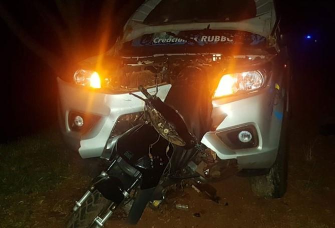 Trágico accidente en Tres Capones acabó con la vida de un joven y su hijo