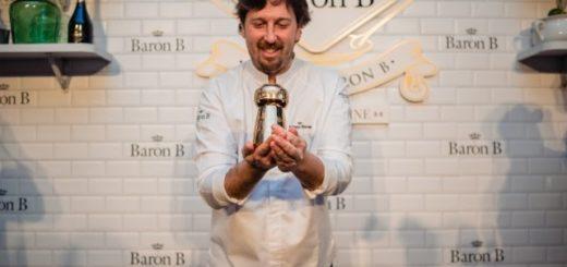 """El Chef Santiago Blondel es el flamante ganador de la 2da edición del """"Prix de Baron B - Édition Cuisine 2019"""
