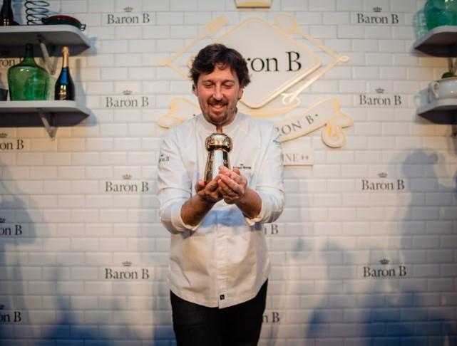 """El Chef Santiago Blondel es el flamante ganador de la 2da edición del """"Prix de Baron B – Édition Cuisine 2019"""
