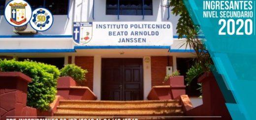 El nivel secundario del Instituto Janssen abrirá las pre-inscripciones el 23 de julio