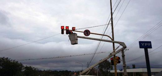 El municipio posadeño continúa trabajando en la modernización de los semáforos de la ciudad