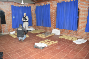 Prefectura Naval detuvo a dos narcos con más de 92 kilos de marihuana en Eldorado