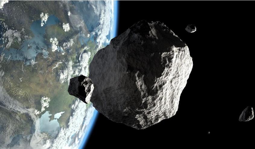 Detectaron un asteroide con la fuerza de una bomba atómica horas antes de su impacto contra la Tierra