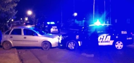 Posadas: tras una persecución la Policía detuvo a dos hombres que robaron una heladería con un arma de fuego