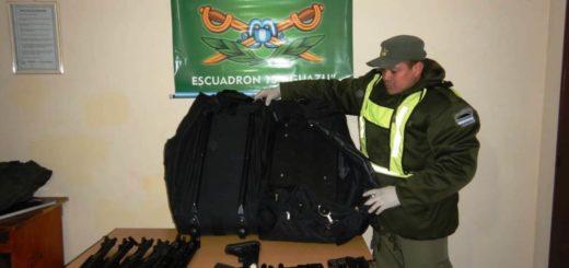 Puerto Iguazú: Gendarmería detuvo a un brasileño con arma de grueso calibre