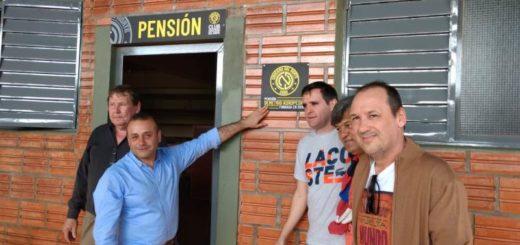 El vicegobernador Herrera Ahuad acompañó la inauguración de la nueva pensión y concentración de Crucero del Norte