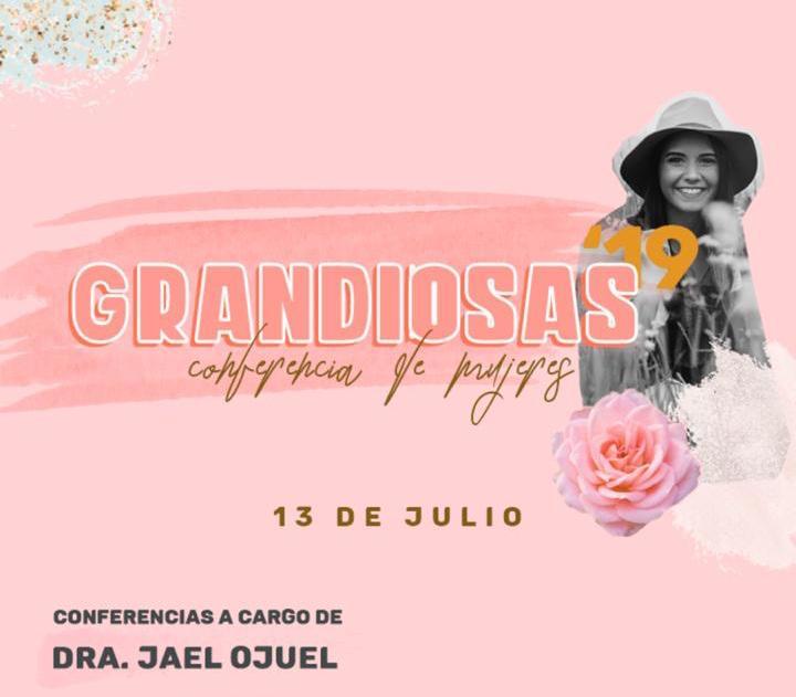 """Eldorado: este sábado se viene la Conferencia de Mujeres """"Grandiosas"""""""