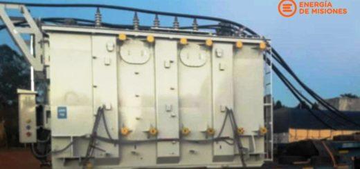 Energía de Misiones informó la llegada del nuevo transformador a Puerto Iguazú