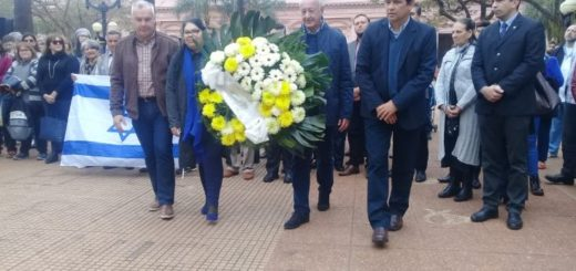 Misiones se sumó con un acto y un minuto de silencio por los 25 años del atentado a la AMIA