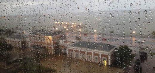 Viernes lluvioso, pero cielo despejado y clima primaveral para el fin de semana