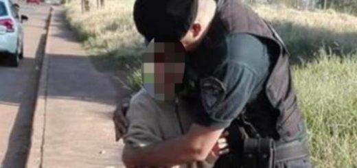 Sigue detenido el hombre que se llevó a un niño en Posadas, investigan porqué lo hizo