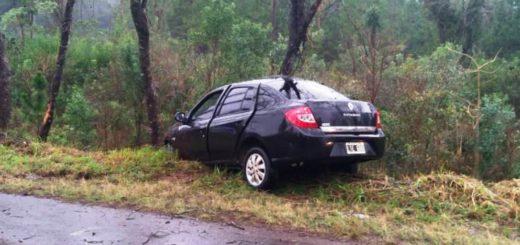 Despiste de un vehículo en la localidad de San Martín dejó como saldo una joven lesionada