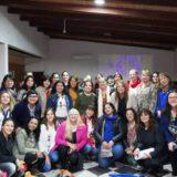 Reunión de la Red de Mujeres con miras a las elecciones de octubre