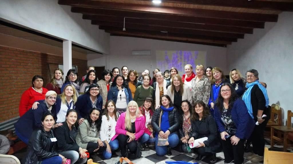La Red de Mujeres de la Concordia se reunió en Alem