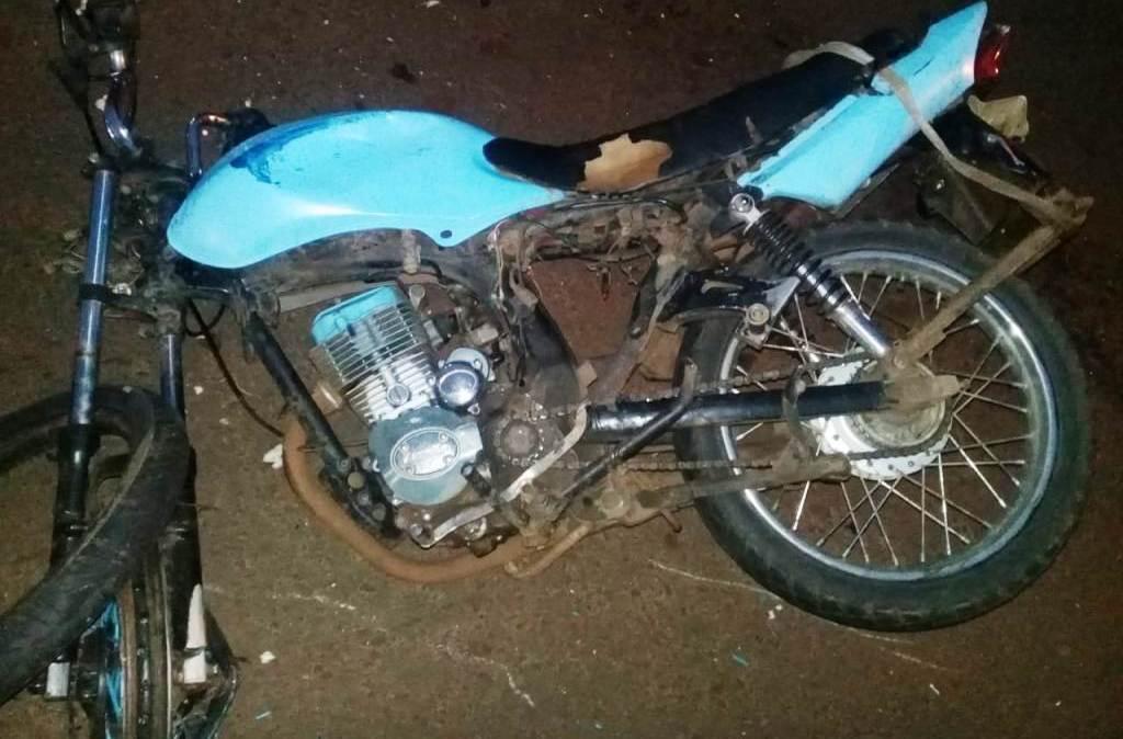 Choque entre auto y moto dejó una persona herida en Posadas