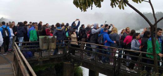 A la fecha Misiones recibió más de un millón de turistas, mientras que el Parque Nacional Iguazú espera al turista un millón en agosto